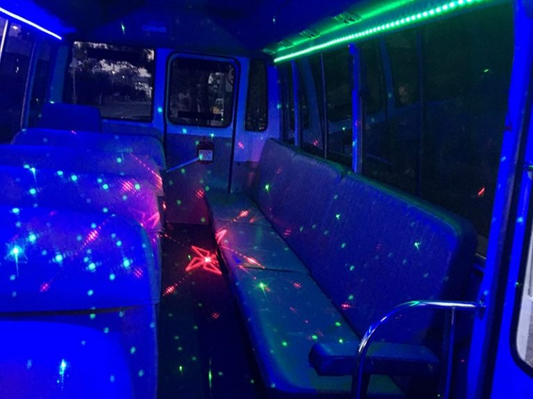 Party Bus With Bench Seat