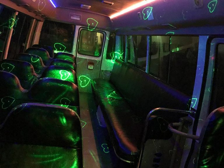 24 Seats Party Bus