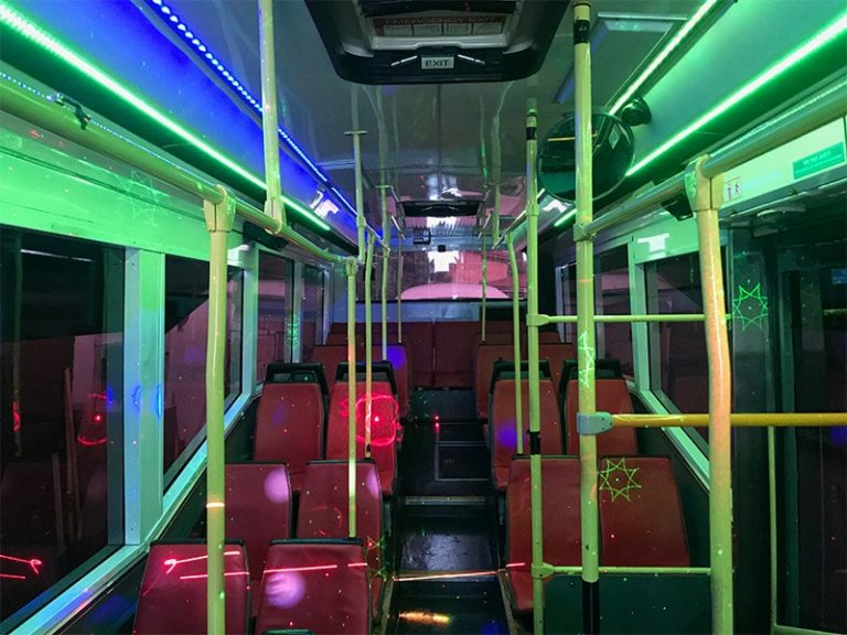 Party Bus Inner View