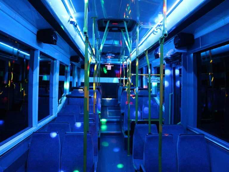 Passenger Party Bus Inner View