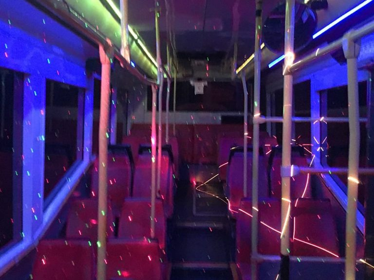 55 Seater Party Bus