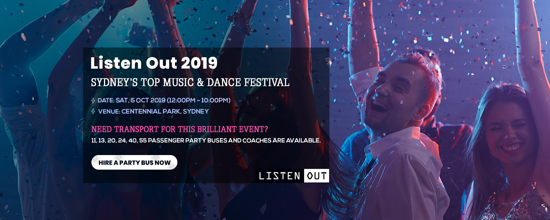 Listen Out 2019