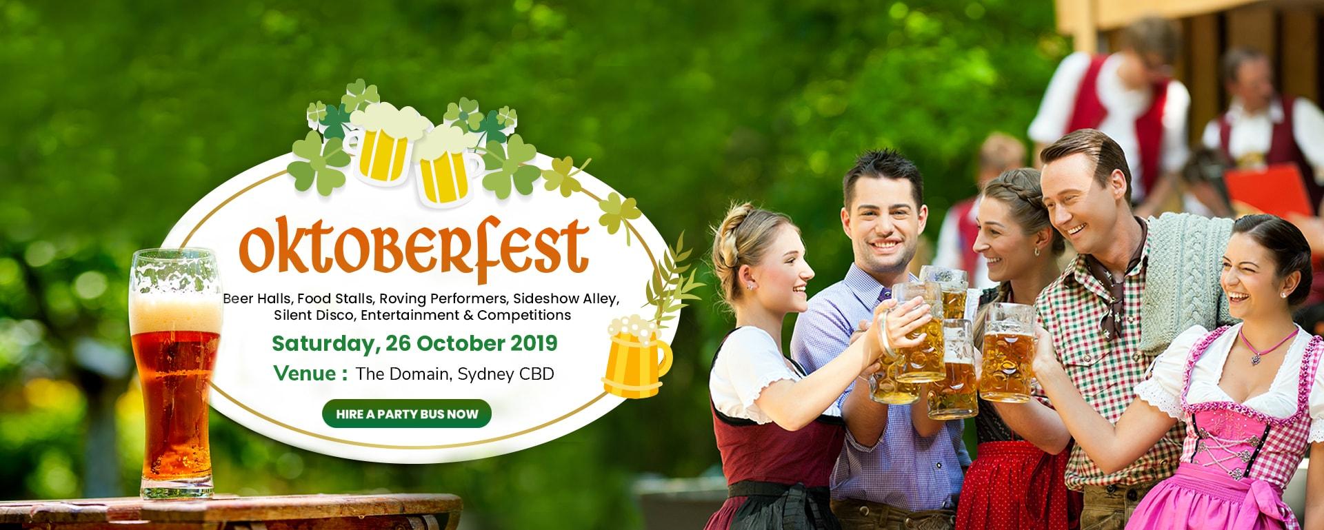 Hire a Party Bus for Oktoberfest Sydney 2019