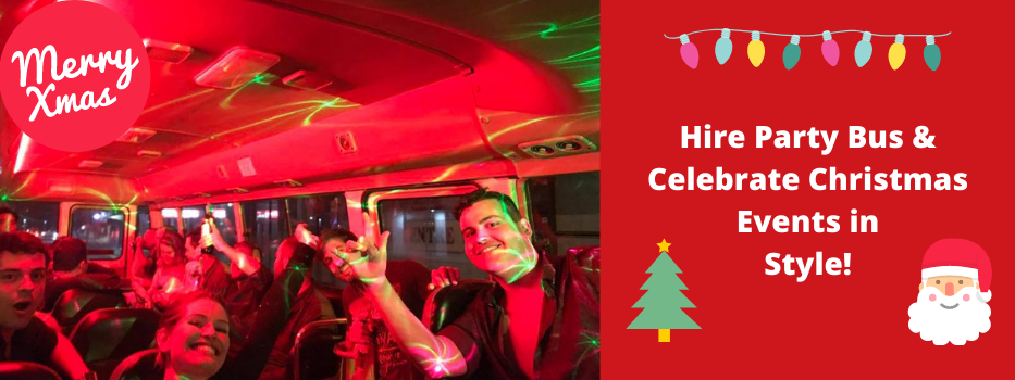 Hire Party Bus & Celebrate Christmas